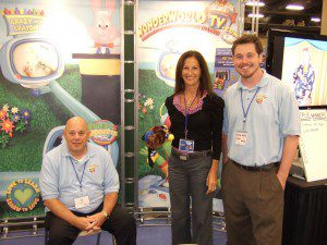 Exhibiting our children's book property at the annual MOPS Convention in Nashville, TN.