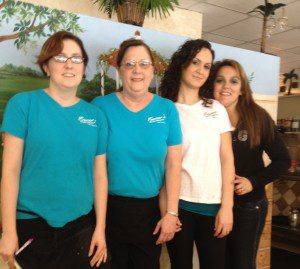 The Women of Paradise Restaurant in Safety Harbor, FL